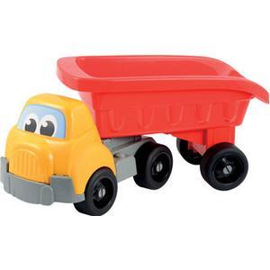 Ecoiffier Großer Sattelzug mit offenem Auflieger [Kinderspielzeug]
